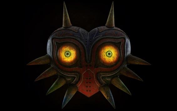 Fondos de pantalla La leyenda de Zelda, máscara, ojos