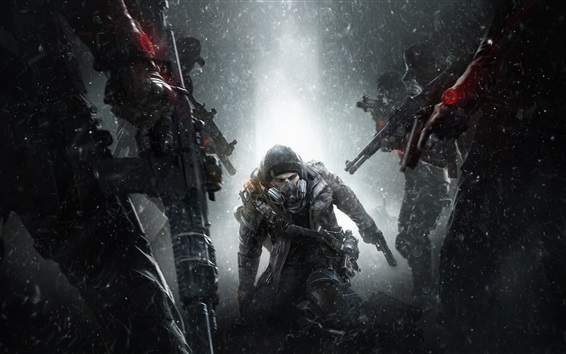 Wallpaper Tom Clancy's The Division, Ubisoft game