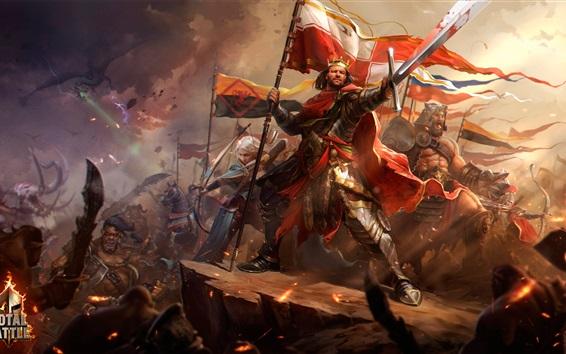 Wallpaper Total Battle, art picture