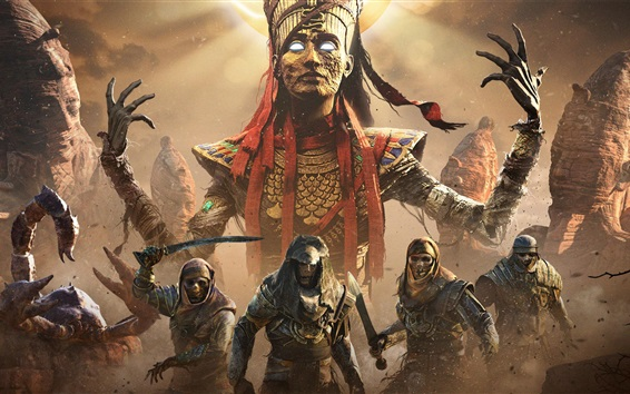 Fondos de pantalla Assassin's Creed: Origins, Mummy, Ubisoft juegos