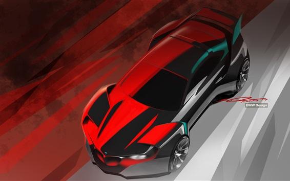 Wallpaper BMW concept car, design