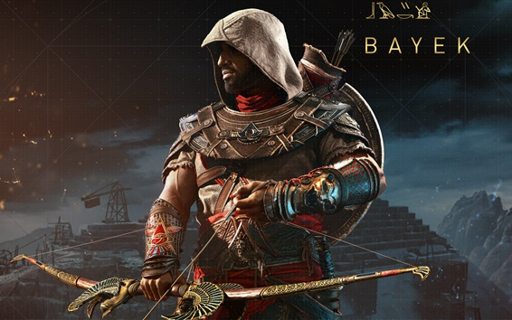 Wallpaper Bayek, Assassin's Creed: Origins