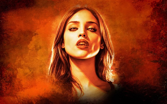 Wallpaper Eiza Gonzalez, vampire, From Dusk Till Dawn, TV series