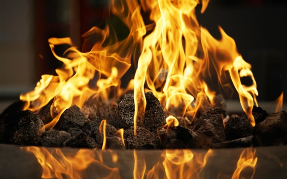 Обои Огонь, пламя, сжигание