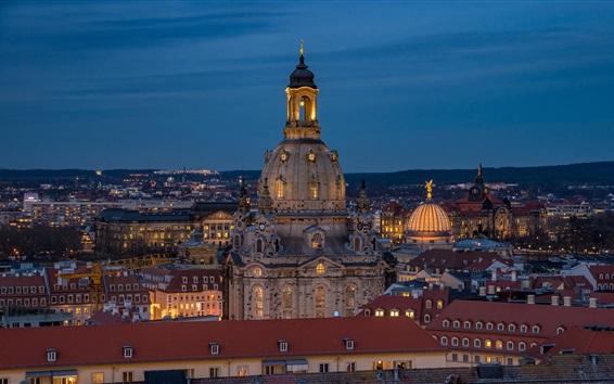 Papéis de Parede Frauenkirche, Dresden, Alemanha