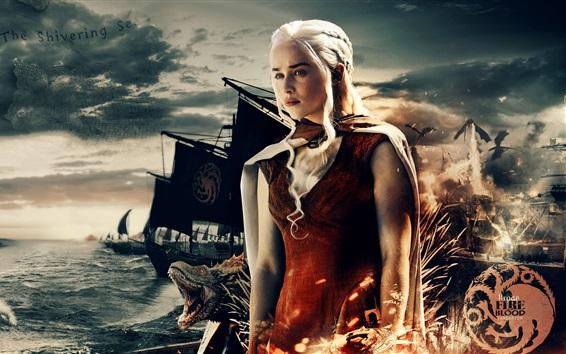 Fondos de pantalla Game of Thrones, Una canción de hielo y fuego, Serie de TV, Daenerys