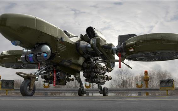Wallpaper Heavy Drone, aircraft