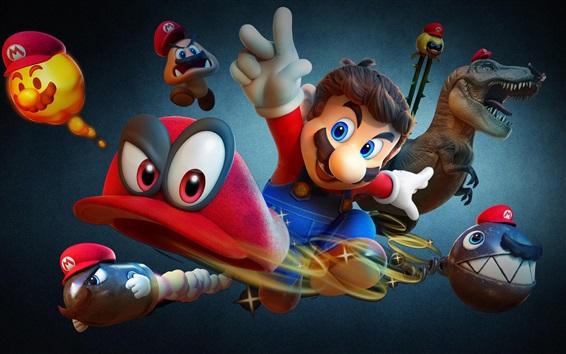 Wallpaper Odyssey, Super Mario, classic games