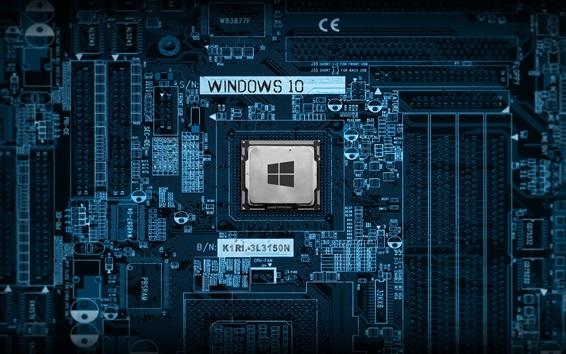 Wallpaper PC mainboard, CPU, technology