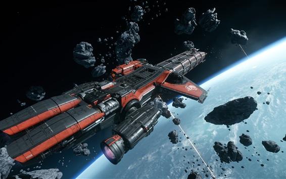 Wallpaper Star Citizen, starship, space, PC games