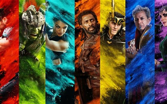 Wallpaper Thor 3, movie 2017