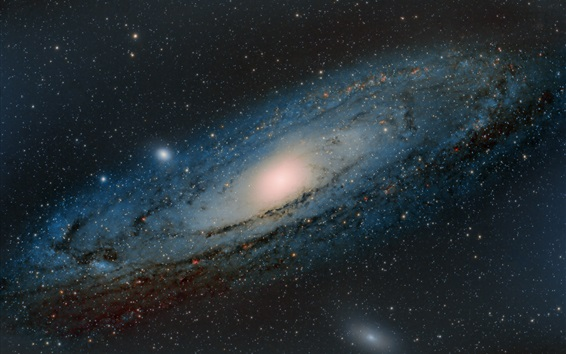 Wallpaper Andromeda Galaxy M31