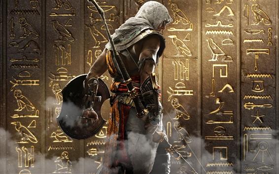 Wallpaper Assassin's Creed: Origins, Ubisoft, back view