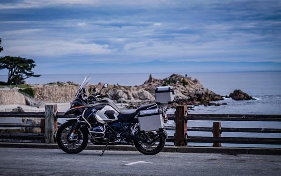 배경 화면 BMW R1200 오토바이