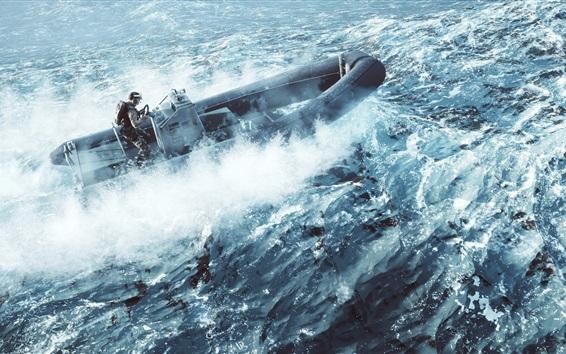 Fondos de pantalla Battlefield 4, soldado, mar, lancha rápida