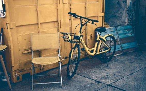 Papéis de Parede Bicicleta, cadeira
