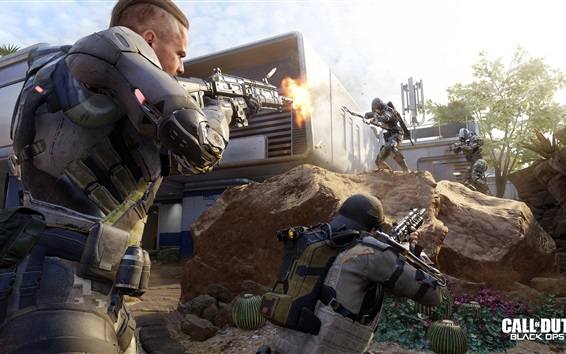 Fondos de pantalla Call of Duty: Black Ops 3, soldados