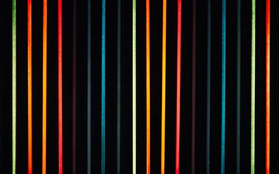 Fond d'écran Néons colorés, lignes