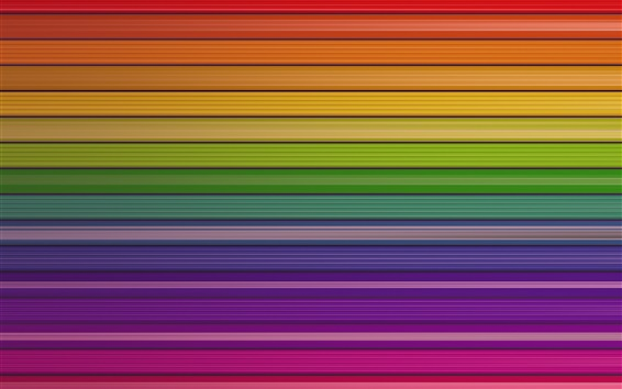 Wallpaper Colorful striped lines, abstract