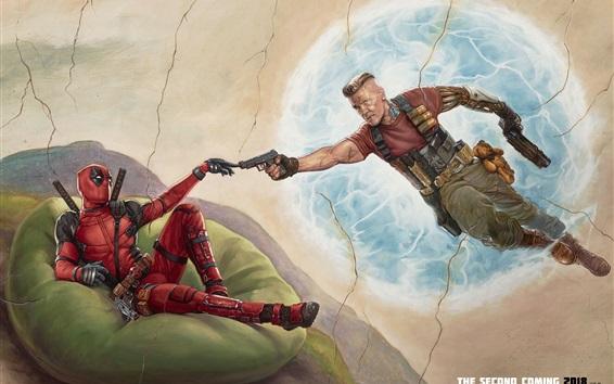 Fondos de pantalla Deadpool 2, imagen de arte