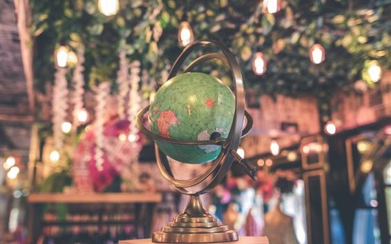 Wallpaper Globe of earth, map