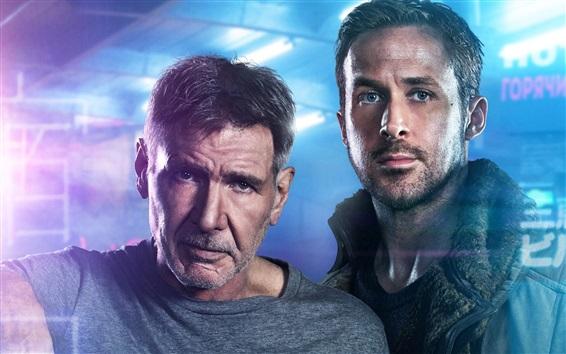 Fondos de pantalla Harrison Ford, Ryan Gosling, Blade runner 2049