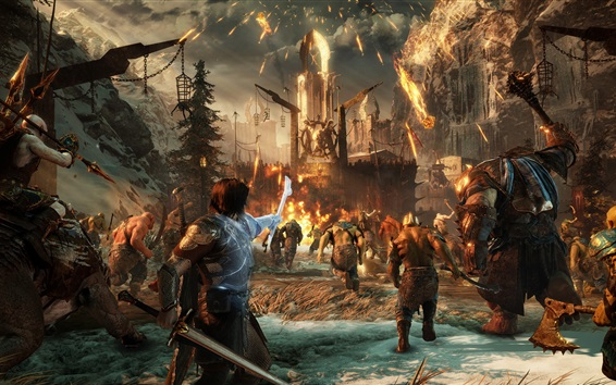 Wallpaper Middle-earth: Shadow of War