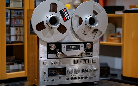 Wallpaper Sony TC-880-2 Tape recorders