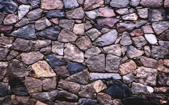 Wallpaper Stones wall, texture