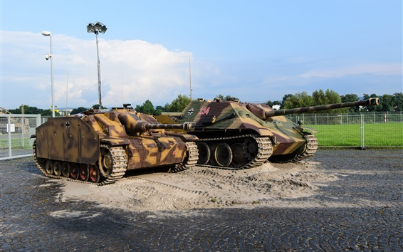 배경 화면 탱크, 폭행 총, 갑옷