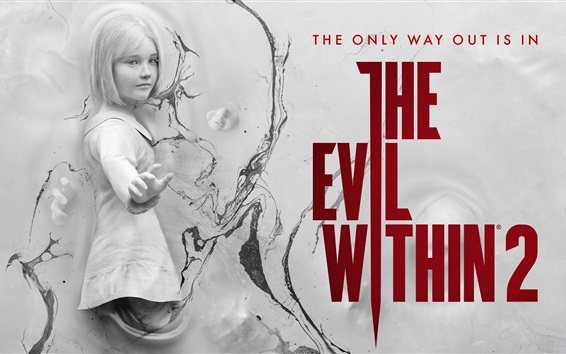 Wallpaper The Evil Within 2, video game