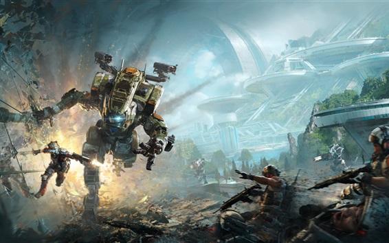 Wallpaper Titanfall 2, EA game