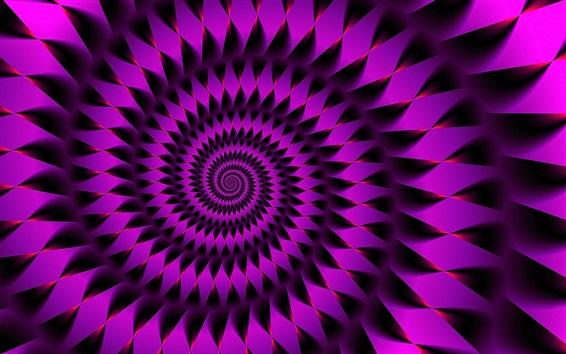 Papéis de Parede Imagens de espiral rosa abstrata