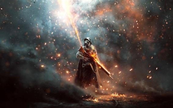 Hintergrundbilder Schlachtfeld 1: Apokalypse, Soldat, Krieg