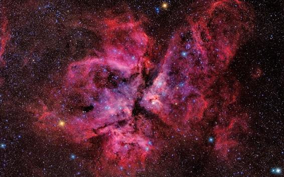Wallpaper Beautiful space, galaxy, stars