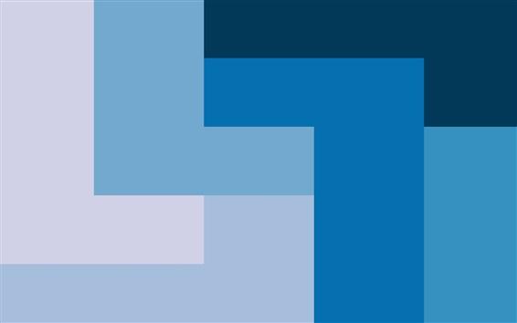 Papéis de Parede Linhas de forma de estilo azul