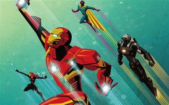 Fondos de pantalla Capitán América: Guerra civil, imagen artística
