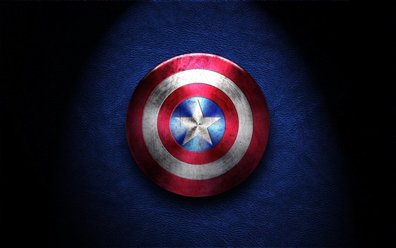 Wallpaper Captain America, shield
