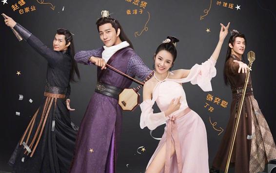 Wallpaper Cinderella Chef, Chinese net TV series