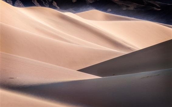 Wallpaper Desert, dunes, sands