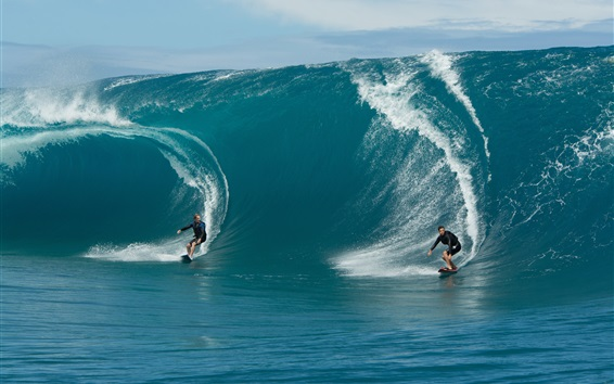 Wallpaper Extreme sports, sea surf