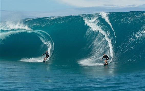 Обои Экстремальные виды спорта, морской серфинг