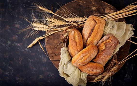 Wallpaper Food, bread, wheat