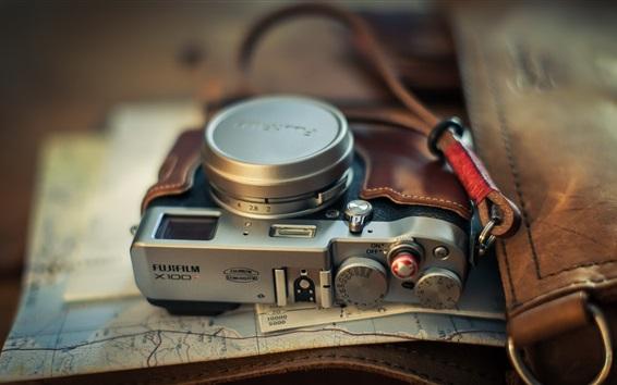Wallpaper Fuji X100T camera