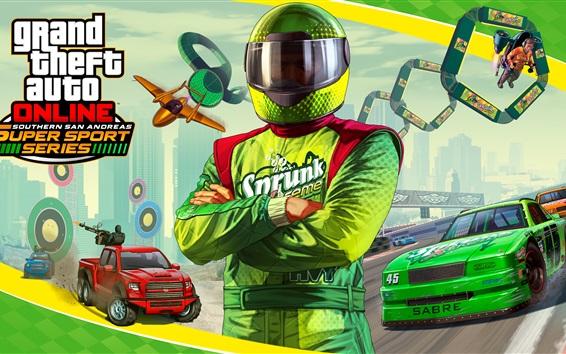 Wallpaper GTA online, Grand Theft Auto V