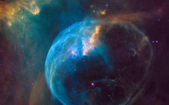 Wallpaper Galaxy, nebula, stars, space, NASA