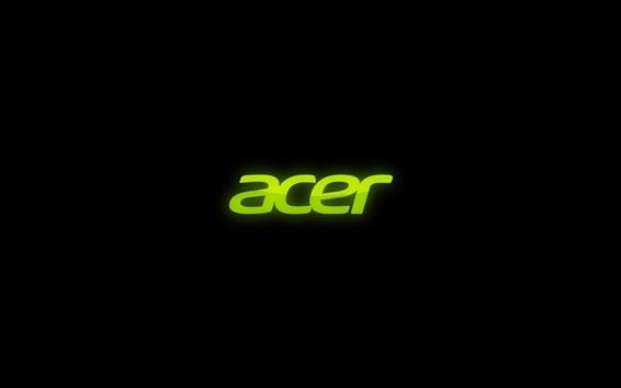 Wallpaper Green acer logo
