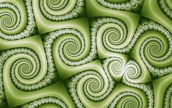 Papéis de Parede Cachos verdes textura de fundo, abstrato