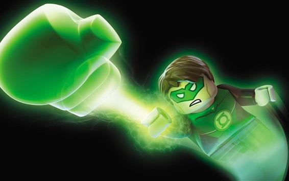 Papéis de Parede Filme Lego, Lanterna Verde
