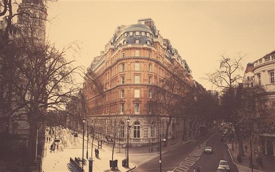 Wallpaper London, Hotel, city, street